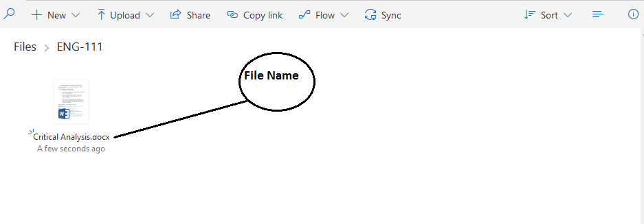 OneDrive File Name Example