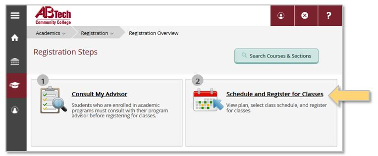 Self-Service Schedule and Register for Classes