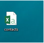 Sample contacts icon